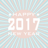 HAPPY NEW YEAR 2017 background. Stock Photography