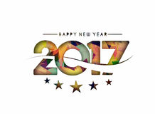 Happy new year 2017 Background Stock Image