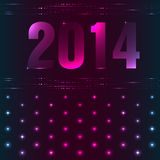 Happy New Year background. With plasma design Royalty Free Stock Image