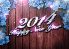 2014 happy new year background Royalty Free Stock Images