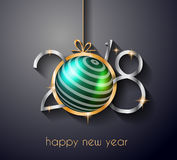 2018 Happy New Year Background for Seasonal Greetings Card. 2018 Happy New Year Background for your Seasonal Flyers and Greetings Card or Christmas themed Stock Photos