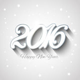 Happy New Year background. Silver Happy New Year background design Stock Photos