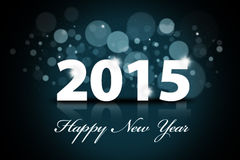 Happy new year 2015 background. Sparkle background of happy new year 2015 Stock Photo