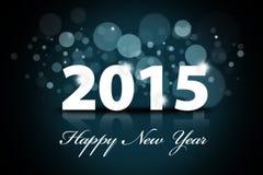 Happy new year 2015 background Stock Photo