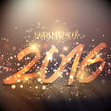 Happy New Year background. Sparkly background design for the Happy New Year Royalty Free Stock Images