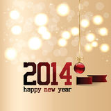 Happy New Year Background. With stars Royalty Free Stock Images