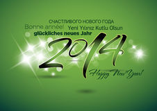Happy New Year Background. With stars stock illustration