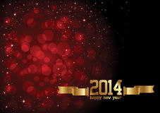 Happy New Year Background. With stars Royalty Free Illustration