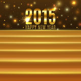 Happy New Year 2015 background with steps. Vector illustration Royalty Free Stock Images