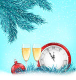Happy New Year Background with Traditional Stock Photos