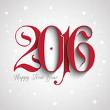 Happy New Year background. Happy New year typography design Royalty Free Stock Photography