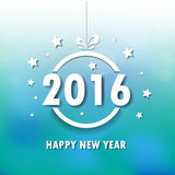 2016 Happy New Year background.vector. 2016 Happy New Year background.vector Stock Photo
