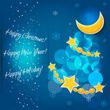 Happy New Year background. Vector EPS 10. Stock Photos