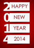 2014 Happy new year background vector illustration Royalty Free Stock Images