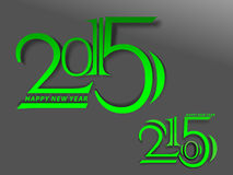 Happy New Year 2015 background. Vector illustration Stock Photo