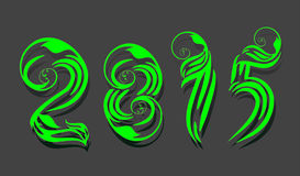 2015 happy new year background Stock Photo