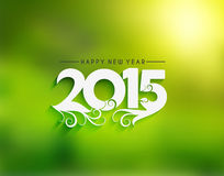 Happy New Year 2015 Background Royalty Free Stock Photos