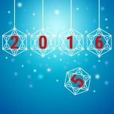 Happy new year 2016 background. Vector Illustration stock illustration