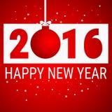 Happy new year 2016 background. Vector Illustration royalty free illustration