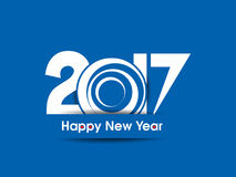 Happy new year 2017 background. Vector illustration Royalty Free Stock Photography