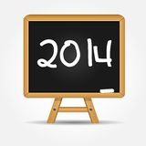 2014 Happy new year background vector illustration Royalty Free Stock Image