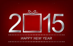 Happy New Year background wallpaper for banner or greeting card Stock Image