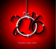 2016 Happy New Year Background for your Christmas Stock Photo