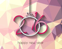 2016 Happy New Year Background for your Christmas Royalty Free Stock Images