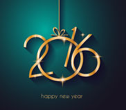 2016 Happy New Year Background for your Christmas dinners Stock Photos