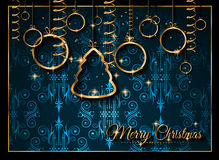 2016 Happy New Year Background for your Christmas Flyers Royalty Free Stock Image