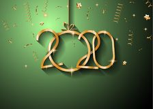 2020 Happy New Year Background for your Seasonal Flyers and Gree. Tings Card or Christmas themed invitations Stock Photo