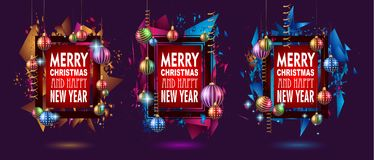 2018 Happy New Year Background for your Seasonal Flyers and Gree. Tings Card or Christmas themed invitations Royalty Free Stock Photography