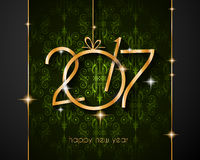 2017 Happy New Year Background for your Seasonal Flyers. And Greetings Card Stock Photo