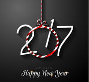 2017 Happy New Year Background for your Seasonal Flyers Stock Photos