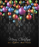 2017 Happy New Year Background for your Seasonal Flyers Royalty Free Stock Photo
