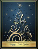 Happy New Year backgrounds Stock Photo