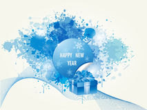 Happy New Year Backround Stock Image