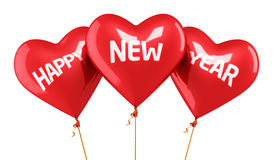 Happy new year Balloon Concept Royalty Free Stock Photos
