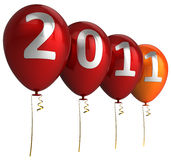 Happy New Year balloons (Hi-Res) Stock Photos