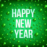 Happy new year balls-03 Royalty Free Stock Photo