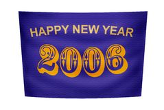 Happy New Year banner Stock Images