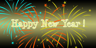 happy new year ! Royalty Free Stock Images