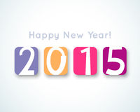 Happy New Year 2015 banner.  illustration for Royalty Free Stock Images