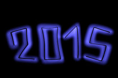 2015. Happy new year banner. Royalty Free Stock Photo