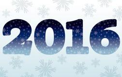 Happy New 2016 year banner, vector. Illustration Royalty Free Illustration