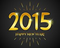 Happy New Year 2015 banner. Vector illustration Stock Image