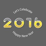 Happy new 2016 year. Beer alphabet. Vector Illustration. Happy new 2016 year. Vector Illustration stock illustration