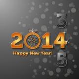 2014 Happy New Year Stock Image