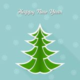 Happy new year. Bright and beautiful illustration on the theme of Christmas and New Year royalty free illustration