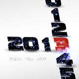 Happy New Year card. 2013 Happy New Year card Stock Photo